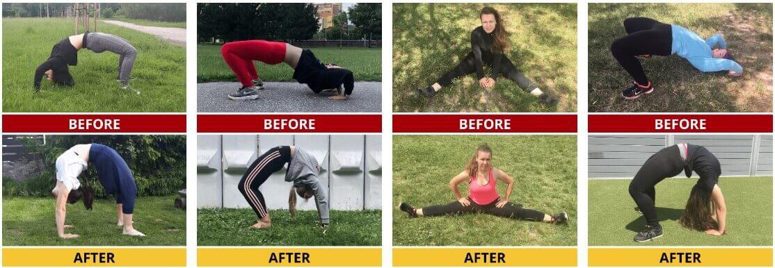 Hyperbolic Stretching testimonials